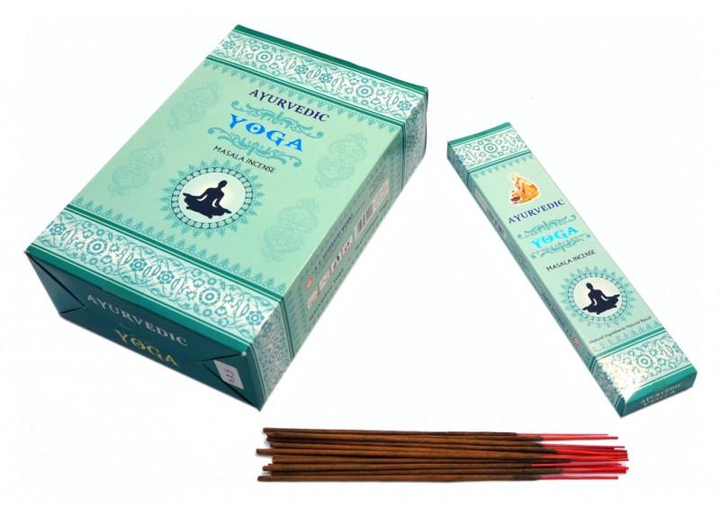 Благовония пыльцевые Ayurvedic Yoga 20 грамм (плоская пачка)