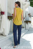 Лёгкий брючный костюм для прогулок 44-50р, фото 2