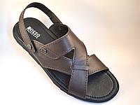 Сандалии босоножки мужские кожаные коричневые Rosso Avangard Sandals Bertal Brown