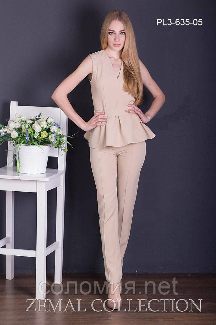 Элегантный Летний брючный костюм 42-48р