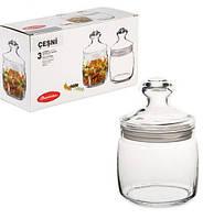 Набор банок (3 шт.)для сыпучих продуктов 500 мл Cesni 97424