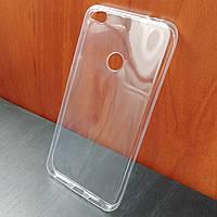 Ультратонкий прозрачный силиконовый чехол для Huawei P8 lite 2017 (Уценка)