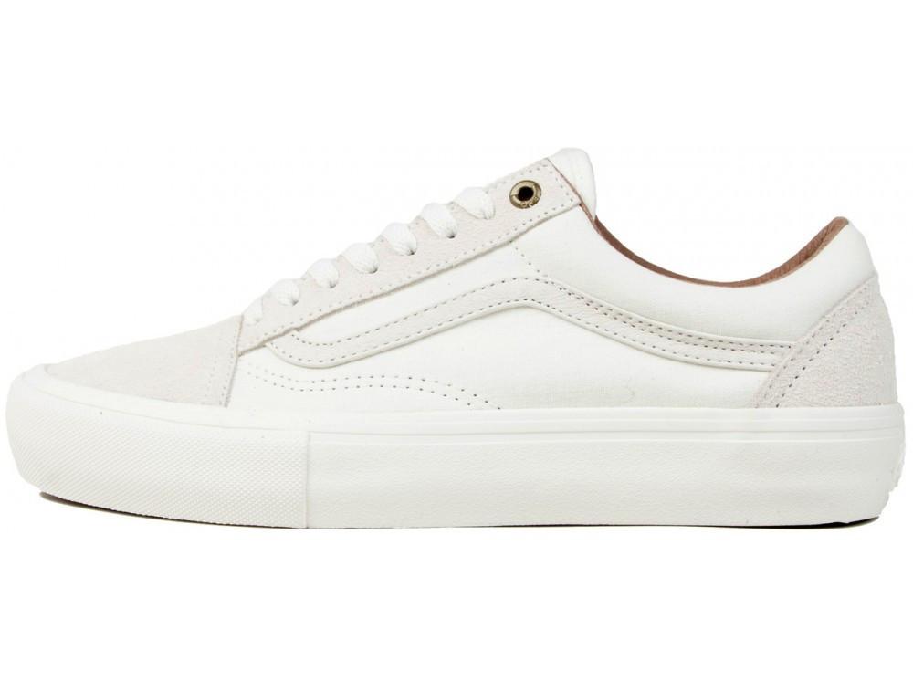 6aac1fc613b7 Кеды Vans Old Skool Pro Skate Colab White (кеды Ванс Олд Скул) — в ...