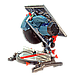 Настольная выдвижная торцовочная пила ЗТП-210/1600 К Профи, фото 2