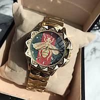 Часы женские Gucci цвет золото ( реплика)