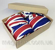 Мужские боксеры Дукат в подарочной коробке. Флаги.