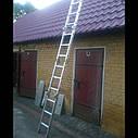 Лестница алюминиева трансформер 4#3 HIGHER, фото 7