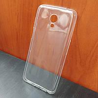 Ультратонкий прозрачный силиконовый чехол для Meizu M6s