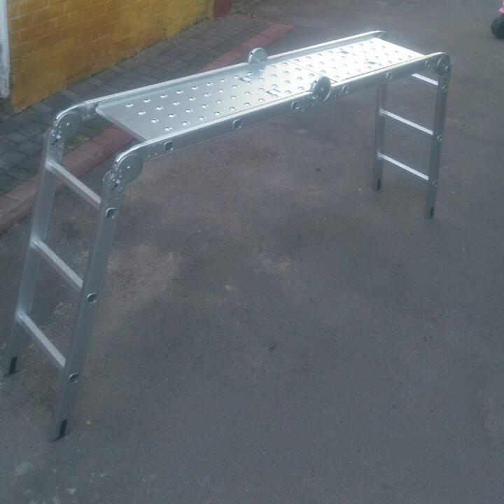 Лестница алюминиева трансформер 4#3 HIGHER