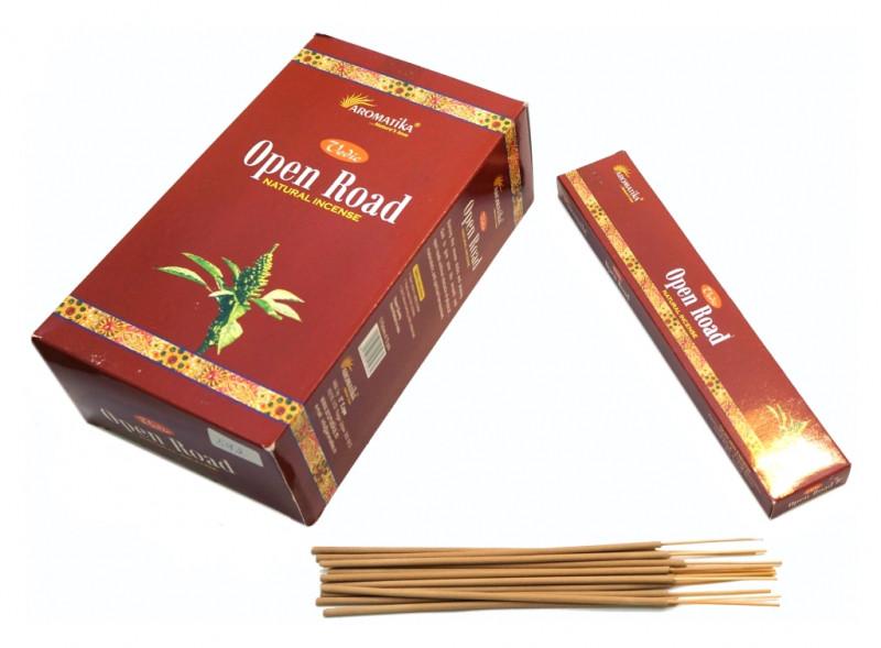 Благовония пыльцевые Aromatika Vedic Open Road 15 грамм