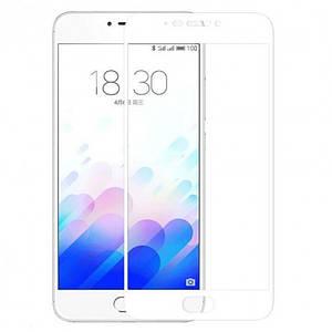 Захисне скло INCORE 2.5 D FULL SCREEN Tempered Glass для Meizu M3/M3S біле