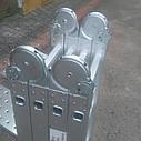 Лестница алюминиева трансформер 4#3 HIGHER, фото 3