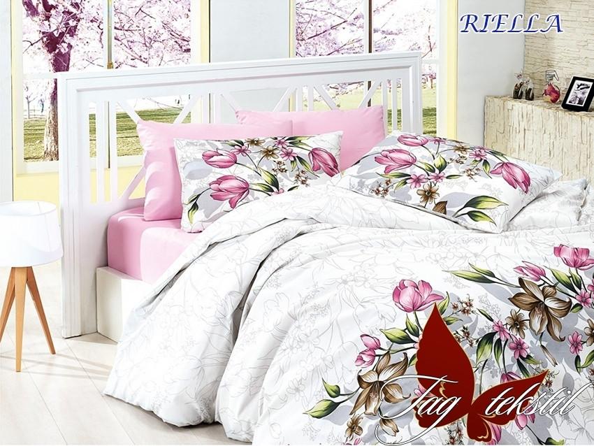 Постельное белье ТМ TAG/2-спальные/Ренфорс RIELLA