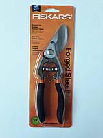 Садові ножиці Fiskars, кований обвідний обрізувач