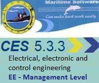 CES 5.3.3 Electrical, electronic and control engineering EE - Management Level