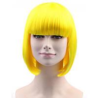 Парик-каре Yellow QUEEN