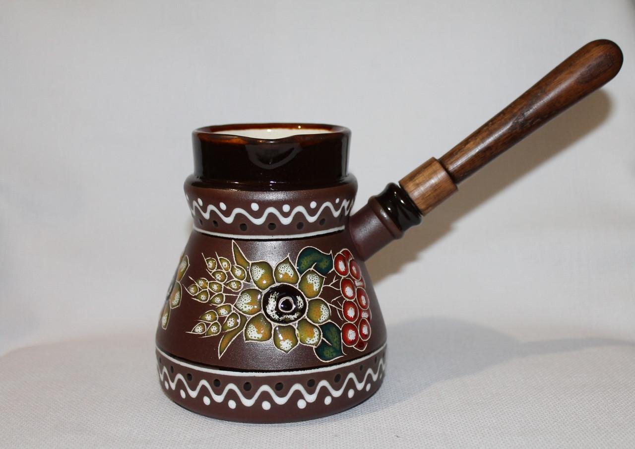"Турка  Восточная ""Декор Калина"" (300мл)"