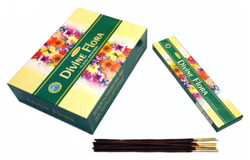 Благовония пыльцевые Nandi Divine Flora 20 грамм (плоская пачка)