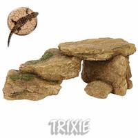 Декорация Скала для рептилий 15,5см в аквариум, террариум 8864