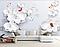 """3D фотообои """"Белые орхидеи"""", фото 3"""