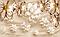 """3D фотообои """"Жемчужные цветы"""", фото 2"""
