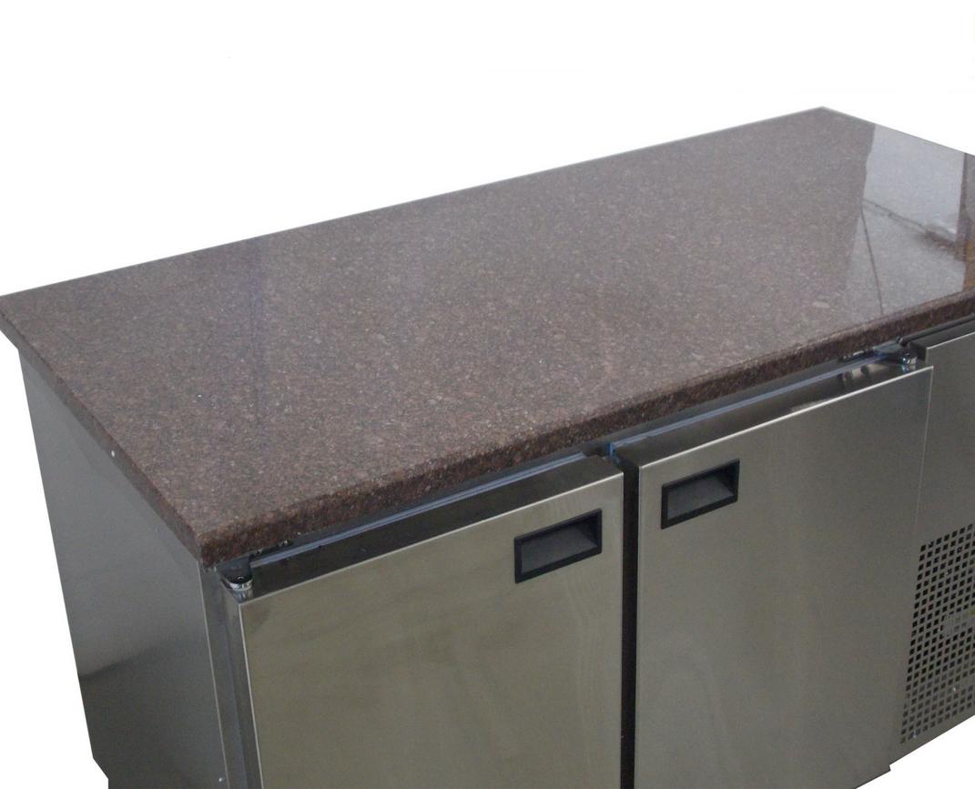 Холодильный стол с гранитной столешницей  2-х дверный  Tehma 1400х700х850