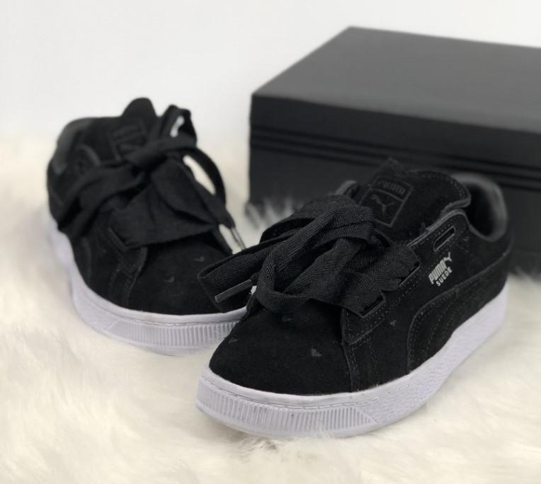 Puma Classic Suede Black White  4dfe967e85daf