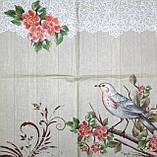 Коллекционная салфетка для декупажа Mamiko Yamashita Птица и цветущей ветке 7598, фото 2