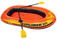 """Надувная лодка из армированный ПВХ. Intex """"Explorer Pro 300"""" 244х117х34 см."""