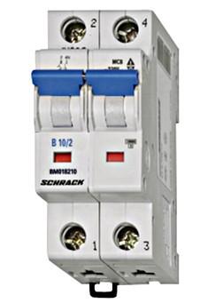 Автоматический выключатель BM4 2p C 6А (4,5 kA)
