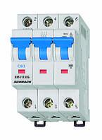 Автоматический выключатель BM4 3p C 6А (4,5 kA)