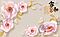 """3D фотообои """"Нежно-розовые розы"""", фото 2"""