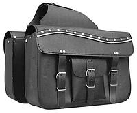 Кофр-сумка Atrox APT NF-9060 кожаная боковая, фото 1