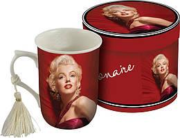 Чашка фарфоровая  Monroe в подарочной коробке