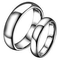 """Парные кольца """"Обручальные"""" из стали, жен. 15.7, 16.5, 17.5, 18, 19, муж. 18, 19, 20, 20.5, 21.5, фото 1"""