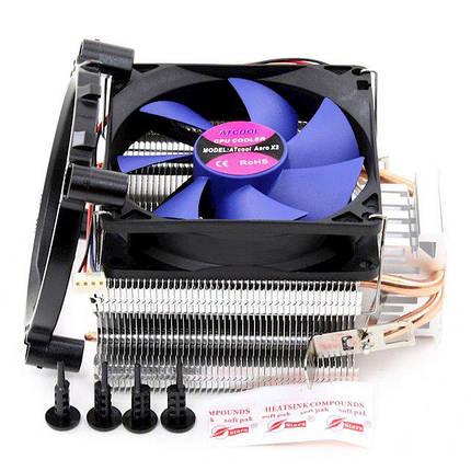 Кулер процессорный ATCOOL AERO X2 BALL BEARING, фото 2