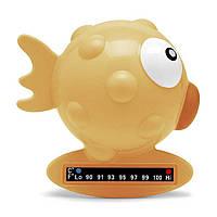 Термометр для ванной Рыбка, Chicco; Цвет - Оранжевый