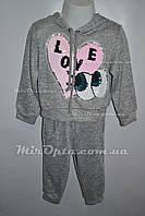 Детский спортивный костюм для девочки (р. 2 - 6 лет) купить оптом в Украине