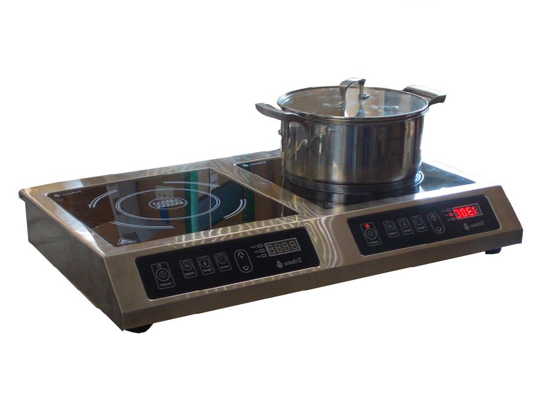 Плита  индукционная 2-х конфорочная  Tehma 3,5Квт , настольная