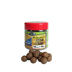 Бойлы насадочные вареные CarpZone Boilies Gold series Instant Hookbaits Tuna & Asafoetida