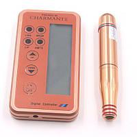 Машинка для татуажа, перманентного макияжа Premium Charmant + 2 катриджа в подарок. Дермоштамп