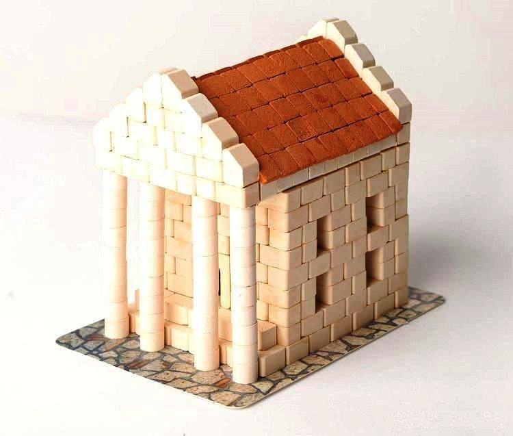 Конструктор з керамічних цеглинок Банк Гравік (07107)