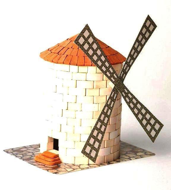 Конструктор из кирпичиков Мельница Країна замків та фортець (07100)