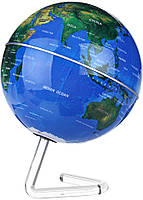 Глобус вращающийся на прозрачной подставке, фото 1