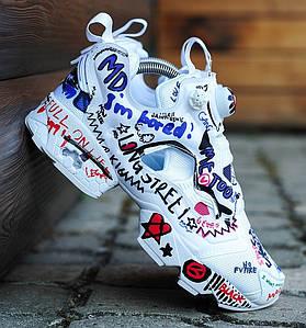 Мужские и женские кроссовки в стиле Vetements x Reebok Insta Pump Fury