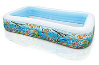 Надувной детский бассейн, Intex