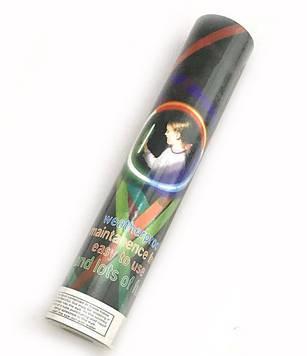 Палочка неон светящаяся толстая 8-9 (24шт) браслет