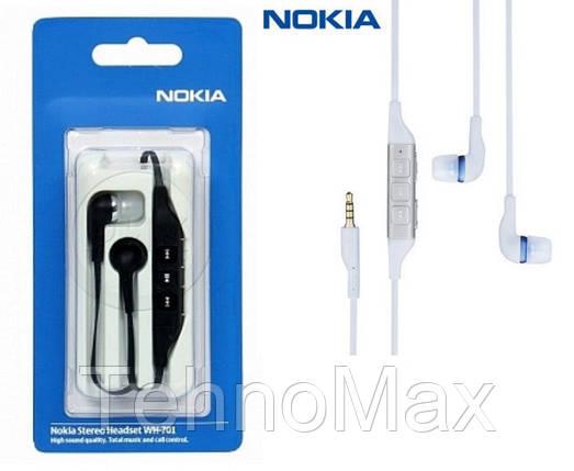 Наушники гарнитура Nokia WH-701 для Nokia X Dual SIM, фото 2