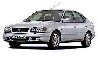 Автомобильные стекла для TOYOTA COROLLA 8 (E11) 04.1997-2002