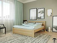 Ліжко півтораспальне 120х200 в спальню дерев'янне буковеЖасмін Лев
